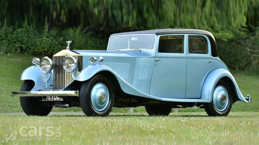 Sir Malcolm Campbell's Rolls Royce Phantom II