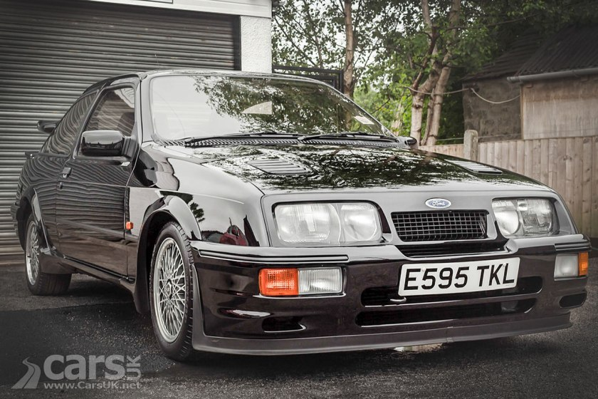 1987 Ford Sierra Cosworth RS500 with just 11k miles SELLS for £122,400
