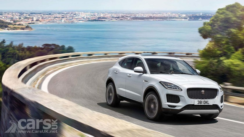 New Jaguar E-Pace SUV REVEALED as Jaguar's F-Pace 'Cub'