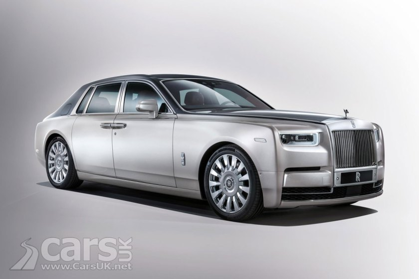 This is the new 2018 Rolls Royce Phantom 8