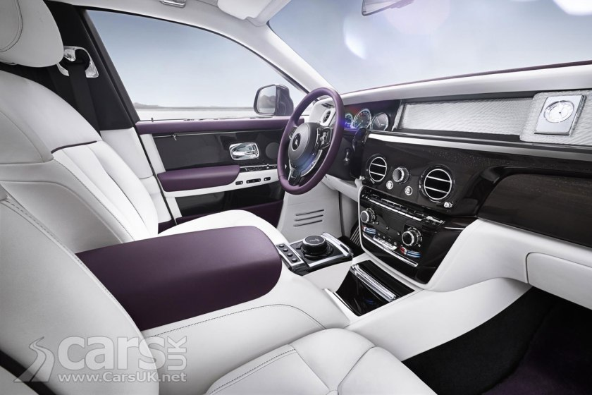 Rolls Royce Phantom 8 Interior