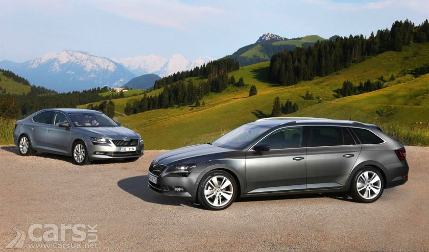 Skoda Octavia and Superb SE Tech models now with new PETROL engine options for fleet