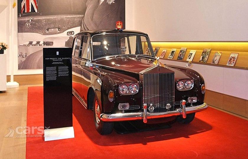 Queen Elizabeth II's Rolls Royce Phantom VI