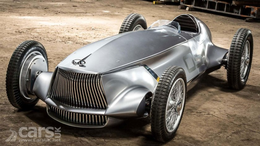 Infiniti Prototype 9 revealed as an electric retro race car