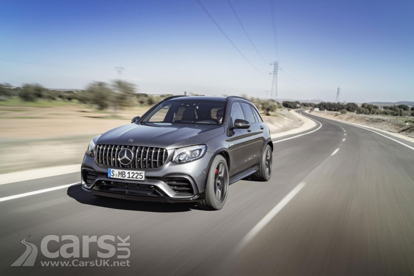Mercedes-AMG GLC 63 and Coupe go on sale in the UK