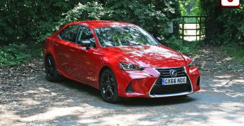 Lexus IS 300h Sport Review (2017) – the Lexus alternative to the BMW 3 Series tested