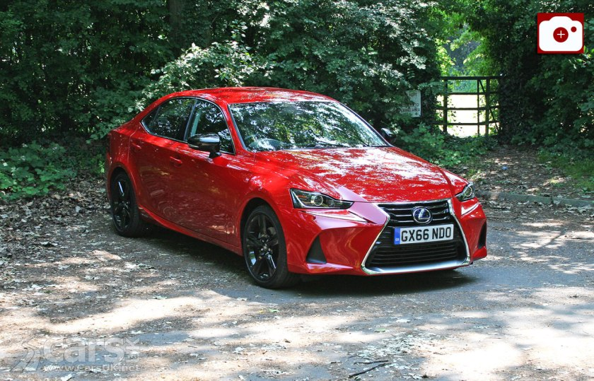 The 2017 Lexus IS 300h Sport we've had in for review