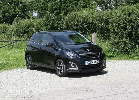 2017 Peugeot 108 GT Line Review Photo