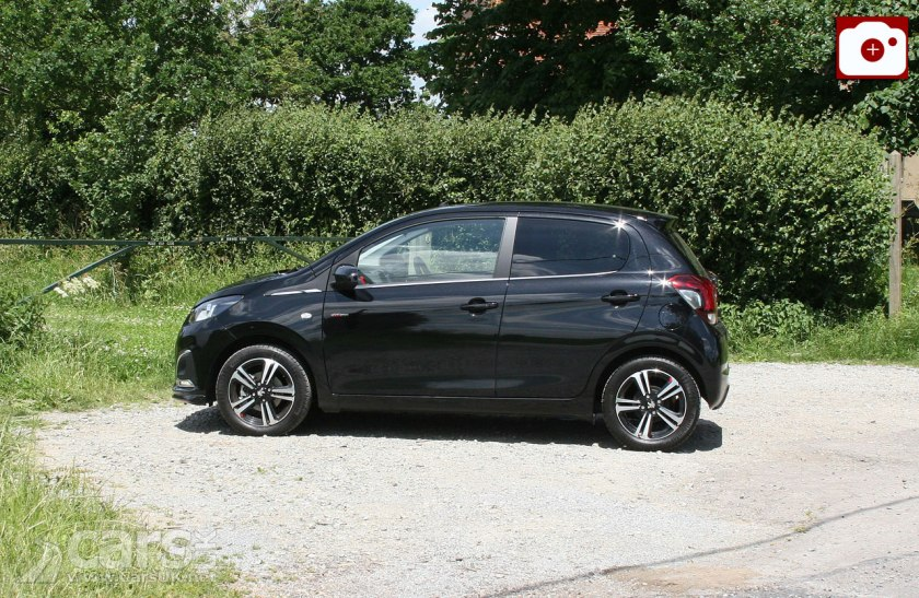 peugeot 108 gt line 1 2 review 2017 peugeot 39 s sporty 108 tested cars uk. Black Bedroom Furniture Sets. Home Design Ideas
