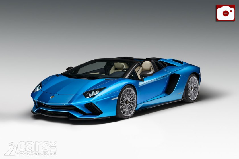 Lamborghini Aventador S Roadster REVEALED