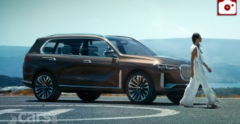 BMW Concept X7 iPerformance previews BMW's PRODUCTION X7 for 2018 (video)