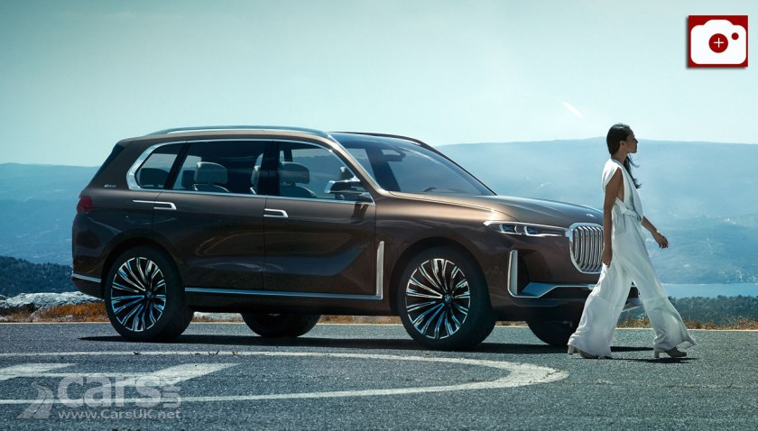 BMW Concept X7 iPerformance previews BMWs PRODUCTION X7 for 2018