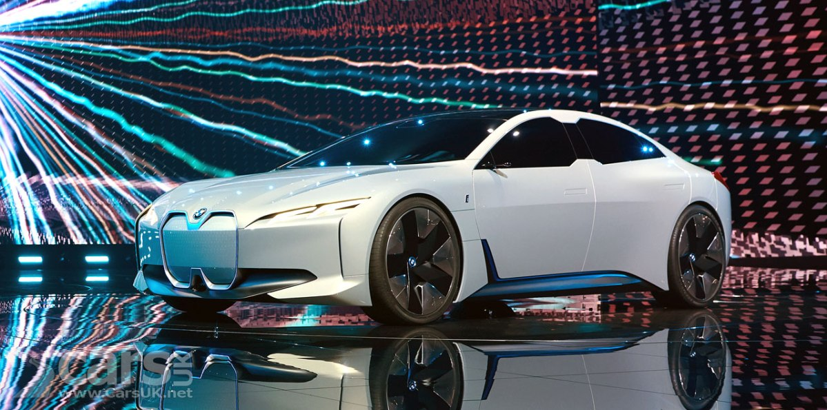 Bmw I Vision Dynamics I5 Will Become The Electric Bmw 4 Series