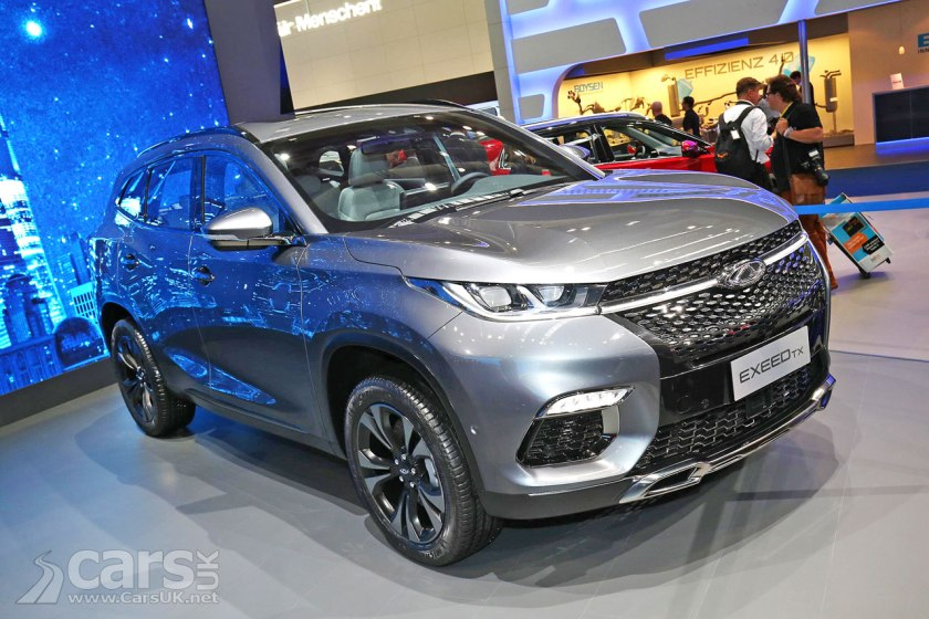 Chery Exeed TX SUV (Pictured) promises a lot