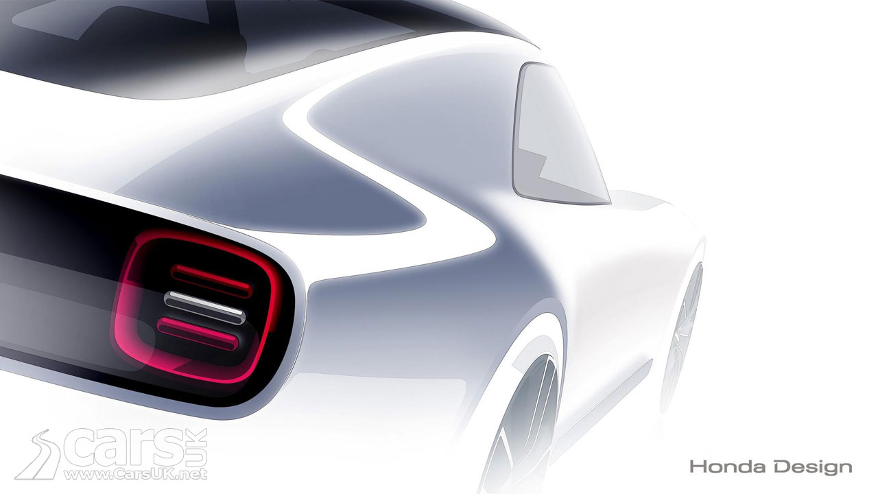 Honda Has Cooked Up An Electric Sports Car For The Tokyo Show