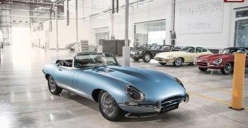 Jaguar E-Type Zero is an ELECTRIC E-Type created by Jaguar Classic (video)