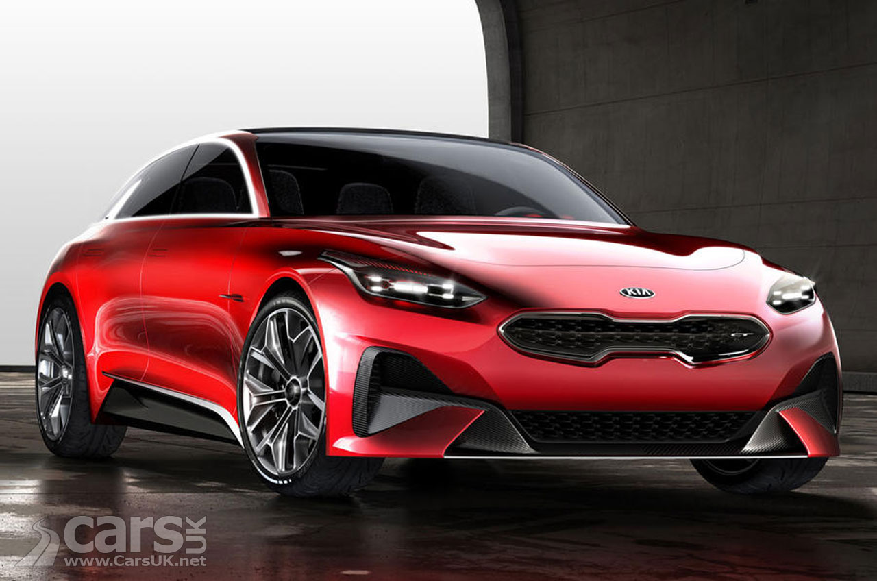 Kia presented a concept vehicle Proceed