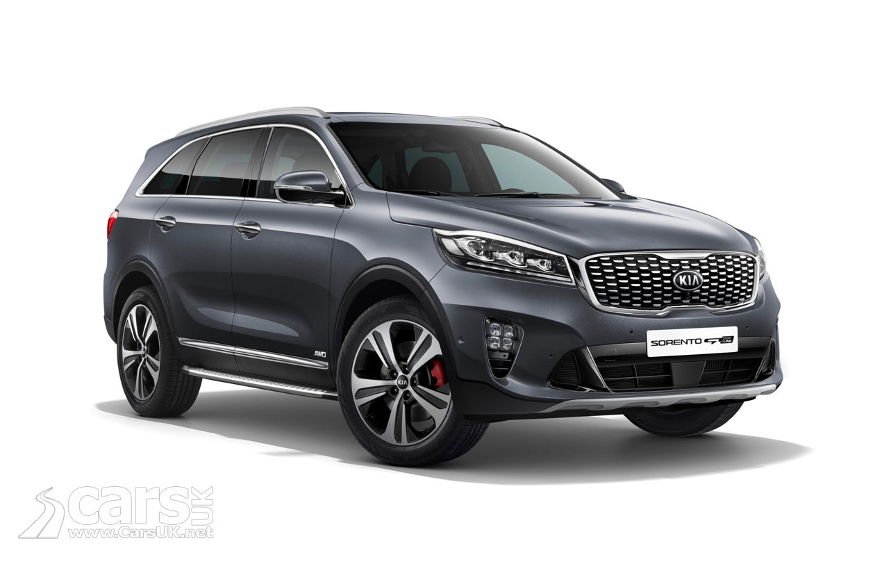 Kia has unveiled the redesigned Sorento crossover