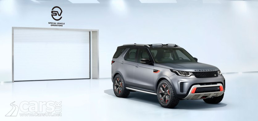 Land Rover Discovery SVX Photo