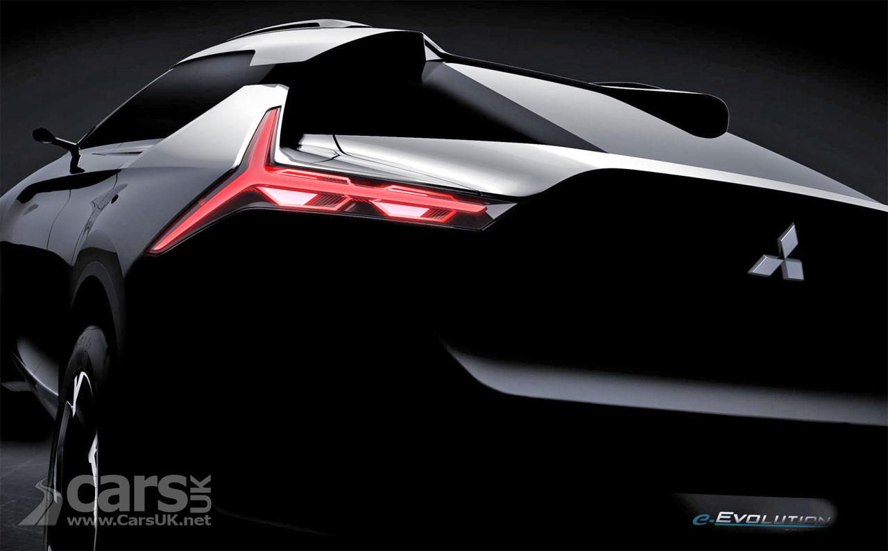Mitsubishi e-Evolution concept brings back the EVO