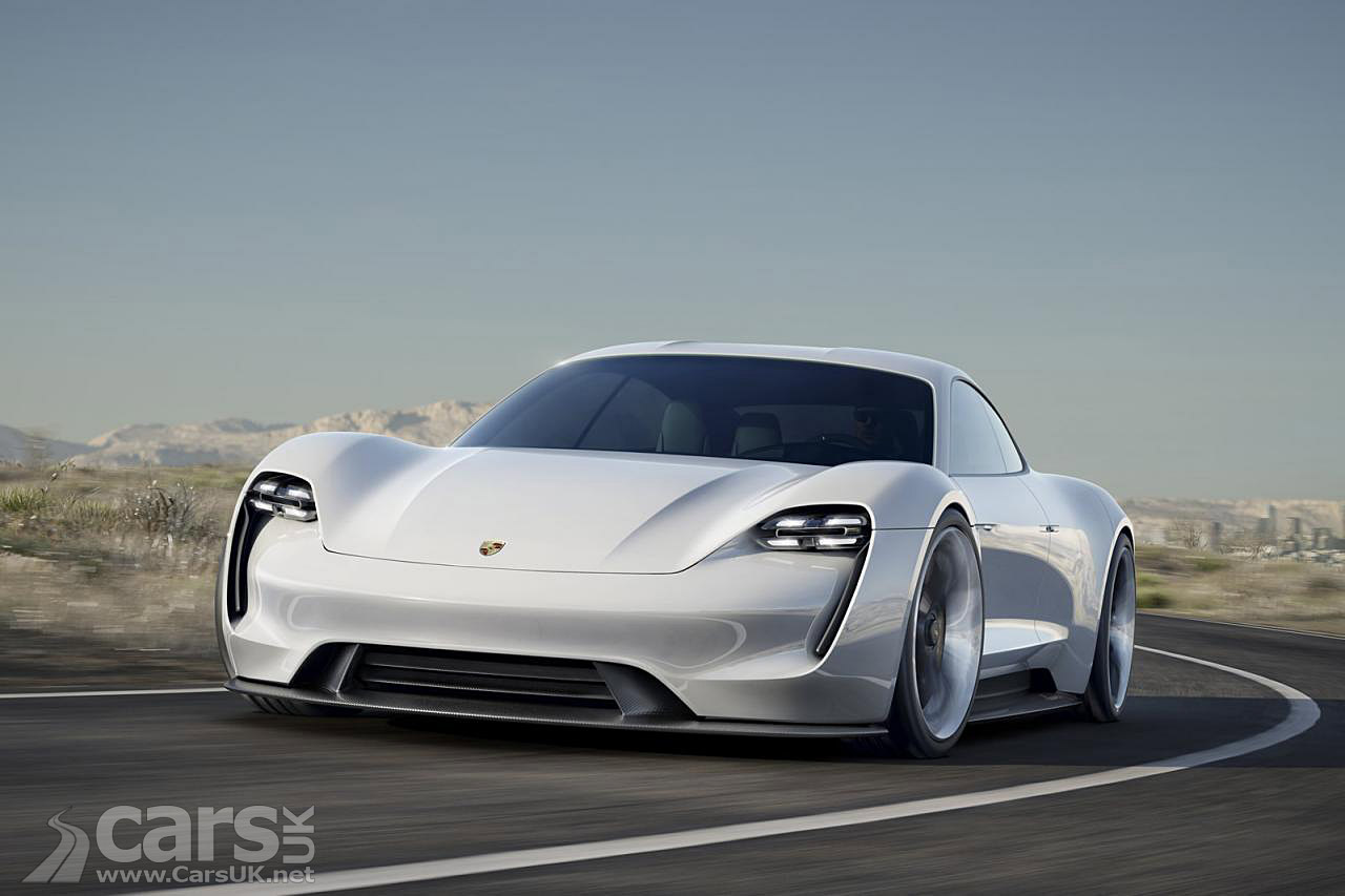 Porsche Mission E To Start At About $85000