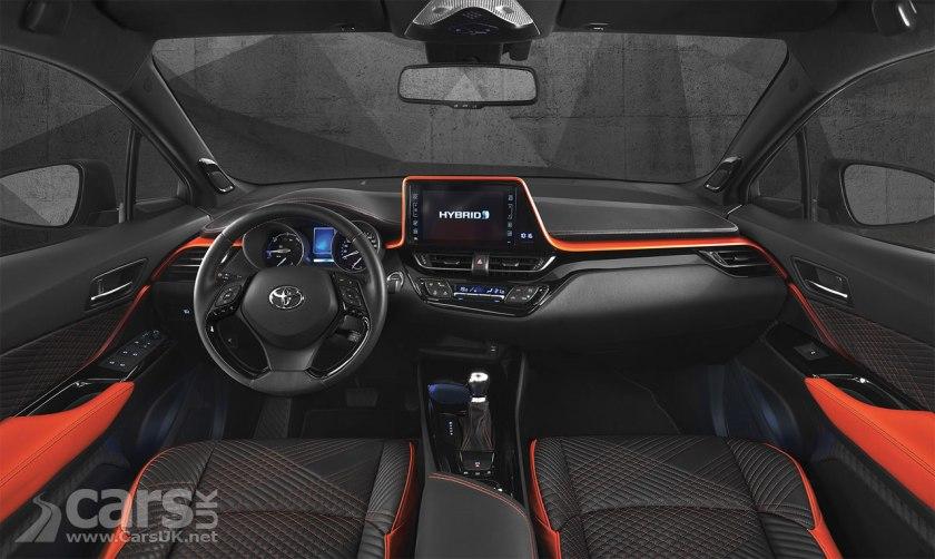 Toyota C-HR Hy-Power Concept Interior