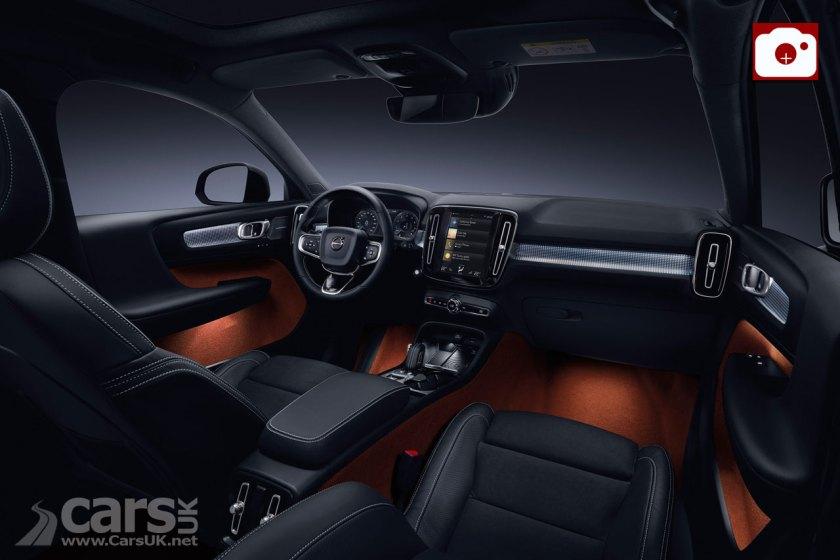 Volvo XC40 Interior Photo