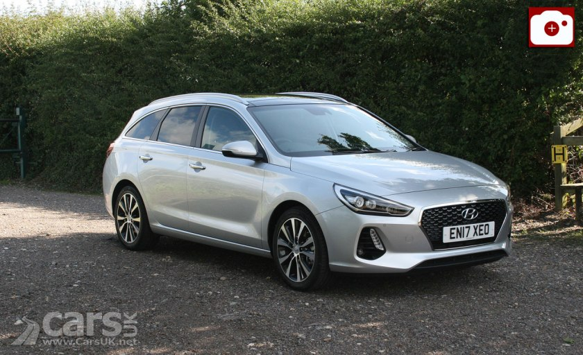 The 2017 Hyundai i30 Tourer Premium SE (pictured) in for Review