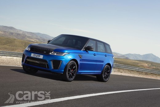 2018 Range Rover Sport SVR Photo
