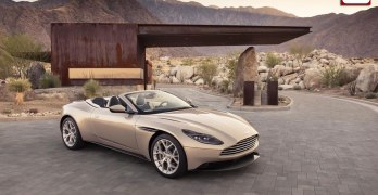 Aston Martin DB11 Volante revealed – and it's V8 only (video)