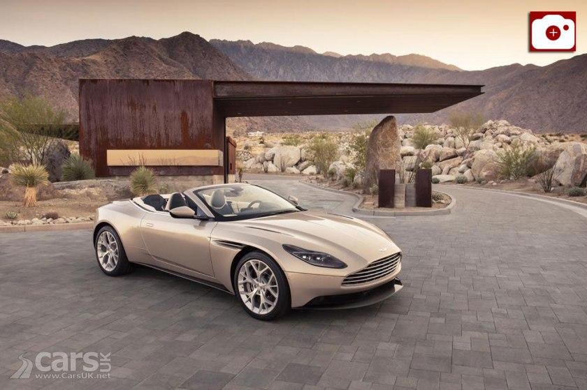 Aston Martin DB11 Volante revealed