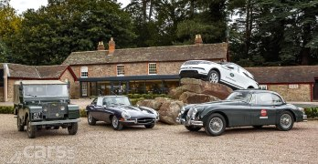 New Jaguar Land Rover Classic Drive puts you in the Range Rover Classic, Jaguar E-Type and more
