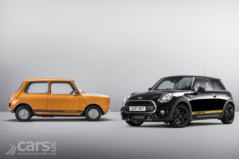 MINI 1499 GT Special Edition tips its hat to the original Mini 1275 GT