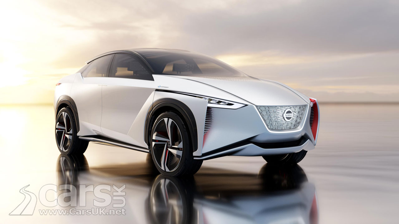 nissan leaf goes suv with the electric imx concept at tokyo