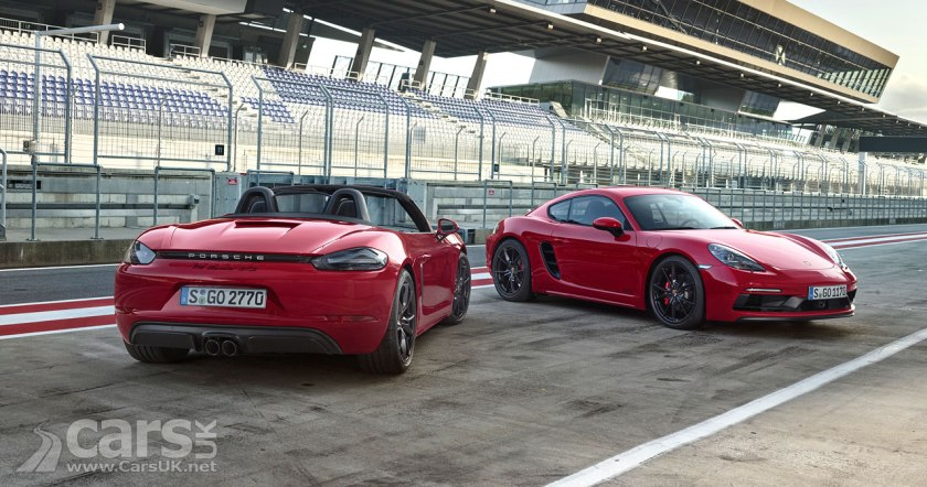 Porsche 718 Cayman GTS and 718 Boxster GTS REVEALED with 361bhp