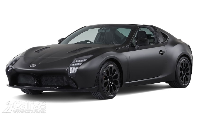 Toyota Gr Hv Sports Concept Is A Gt86 With Le Mans Inspiration And