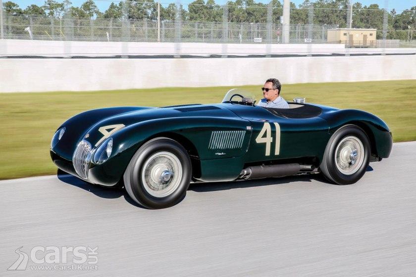 1952 Jaguar C-Type heading for auction