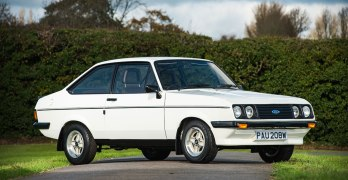 Classic Ford Escort now hitting almost £100,000 – RS2000 and Cosworth lead the way