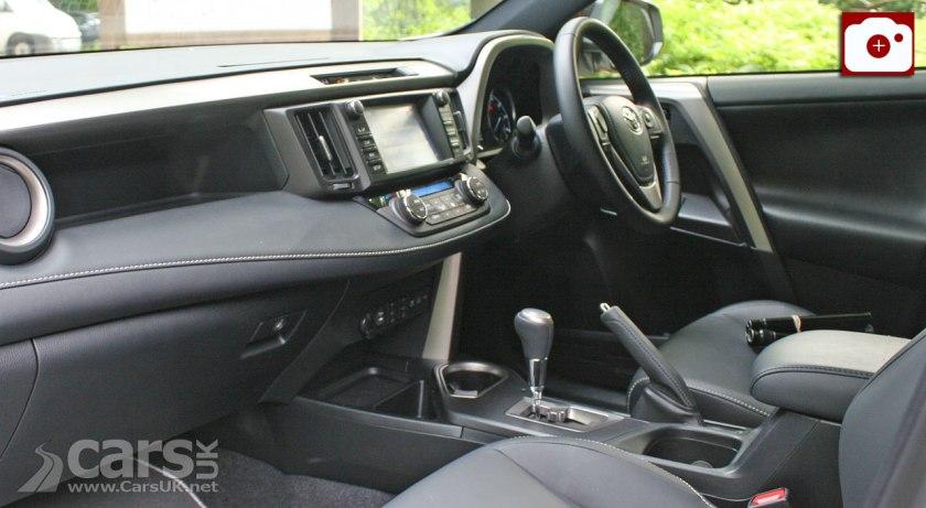 2017 Toyota RAV4 Hybrid Review Interior