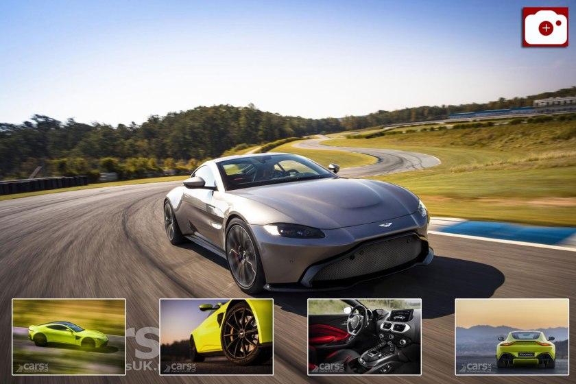 New Aston Martin Vantage Photo Gallery