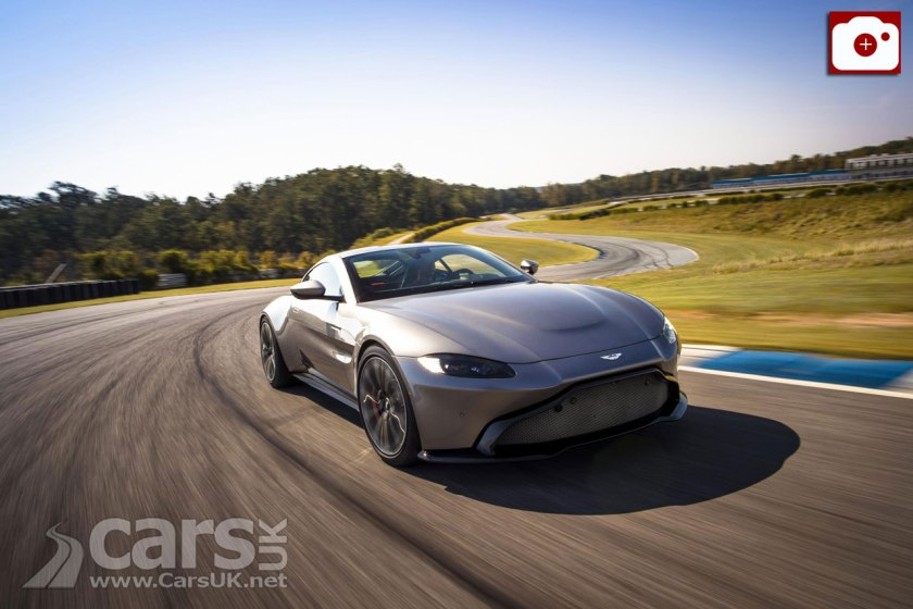 2018 aston martin v8 vantage. 2018 aston martin v8 vantage officially revealed