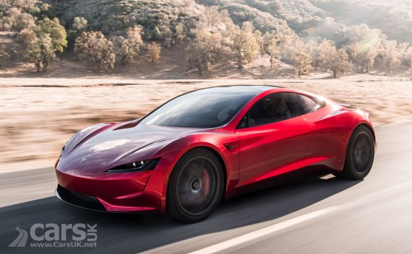 New Tesla Roadster may be able to FLY, claims Musk