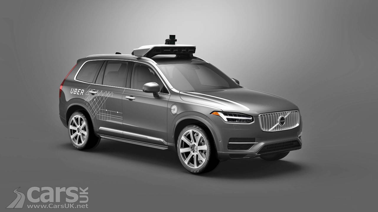 Uber will purchase from 24 000 Autonomous Volvo crossover XC90