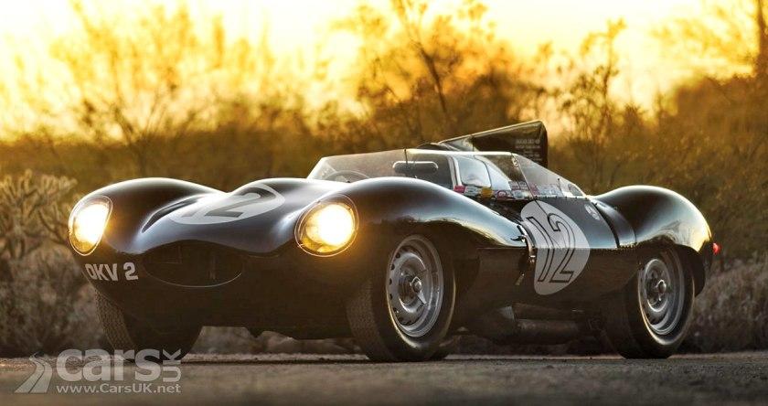1954 Jaguar D-Type Works OKV 2 up for auction