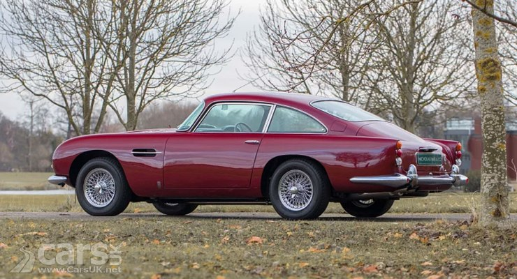 Robert Plant's 1965 Aston Martin DB5