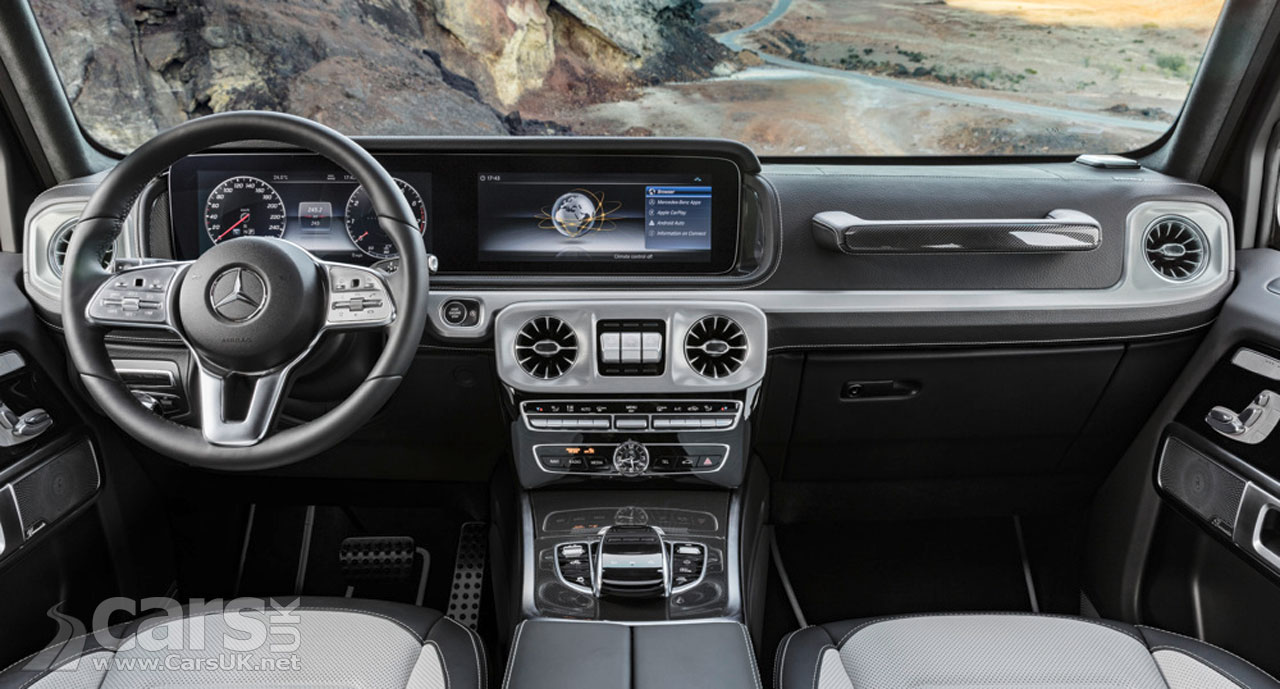 Mercedes-Benz G-Class interior revealed