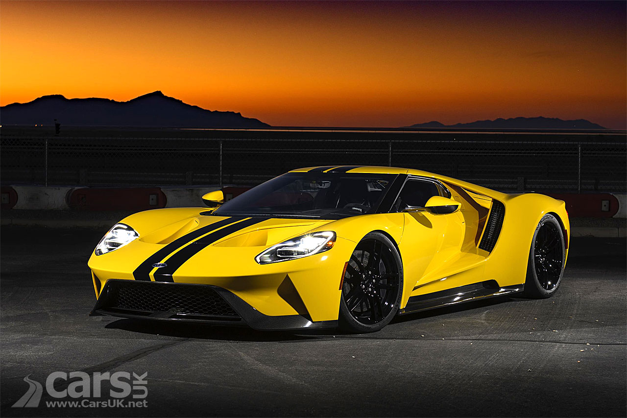 Ford sues John Cena for selling his Ford GT