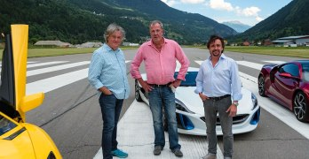 The Grand Tour Series 2 kicks off with Hammond's Rimac Concept One EV CRASH
