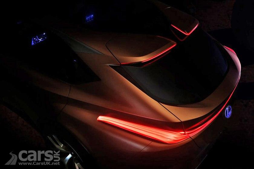 Lexus LF-1 Limitless SUV Concept TEASED