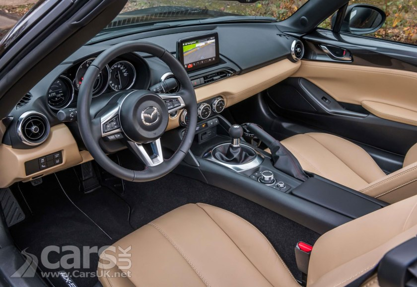 Mazda MX-5 Z-Sport Limited Edition Interior
